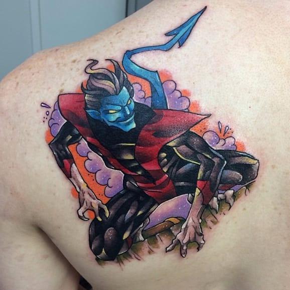 8 Lively Nightcrawler Tattoos
