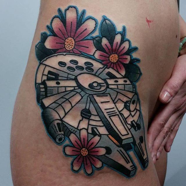 Geeky Tattoos By Bartek Kos