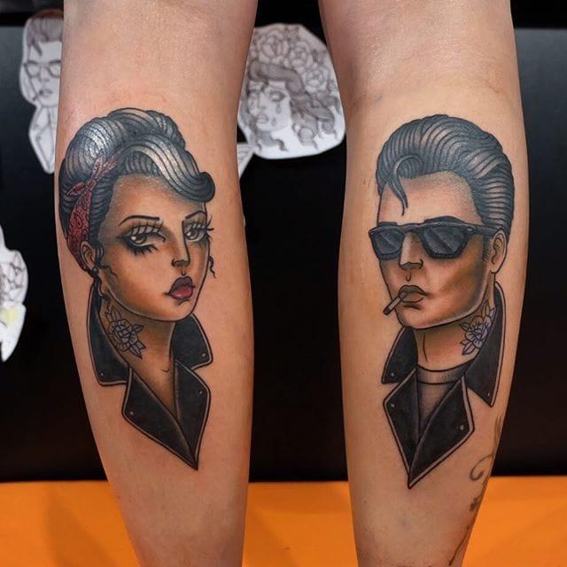 16 Old School Ladies Tattooed By Gigi