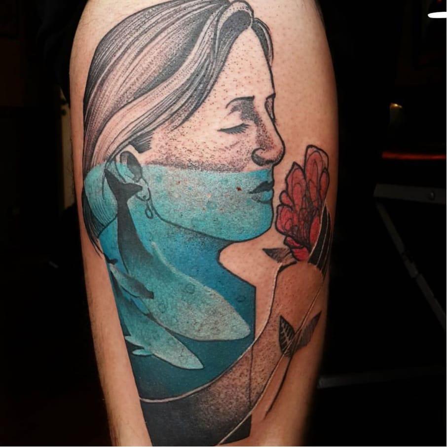 Creative Graphic Tattoos By Tin Machado