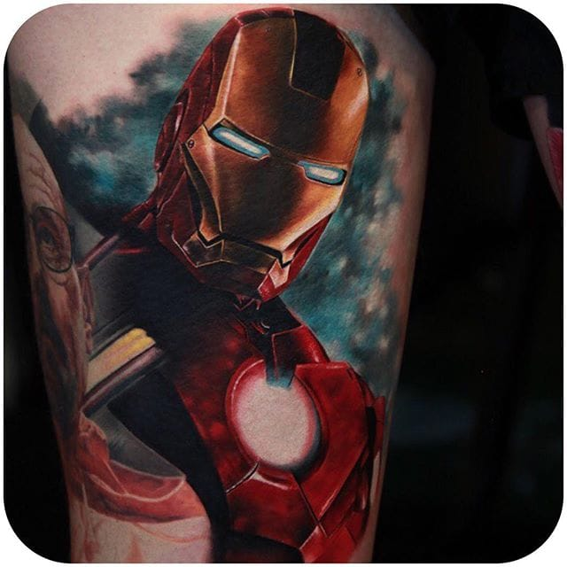 25 Iron Man Tattoos That Are Ready To Conquer