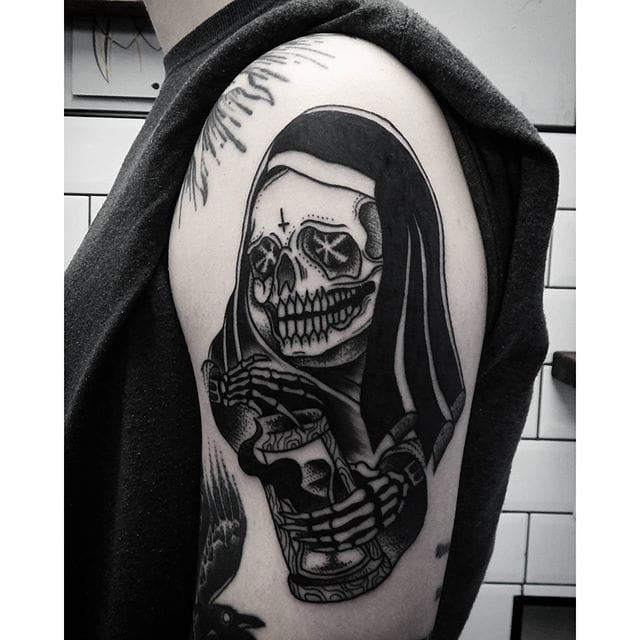 13 Deadly Grim Reaper Tattoos
