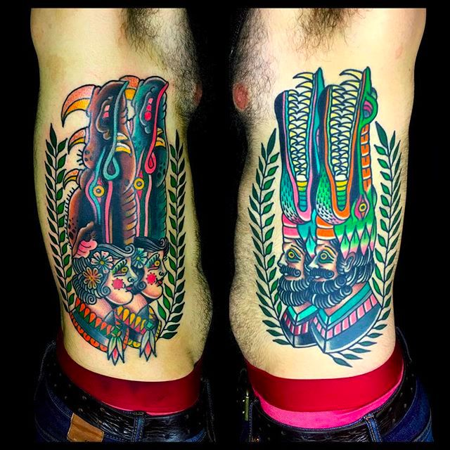 22 Wild and Eccentric Beasts by Teide Tattoo