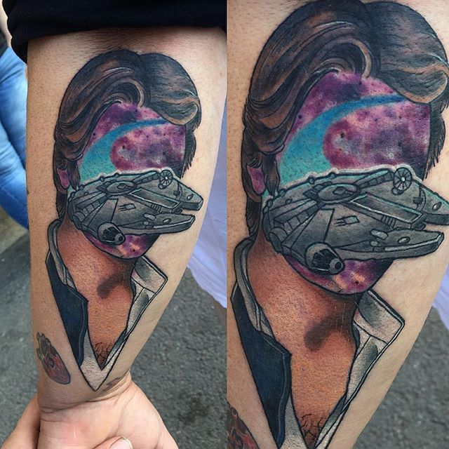 Awesome Faceless Pop Culture Tattoos by Jay Joree
