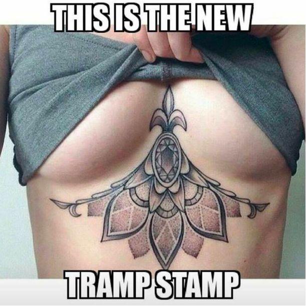 Sternum Tattoos New Tramp Stamp? Stop Shaming Tattoo Placement!