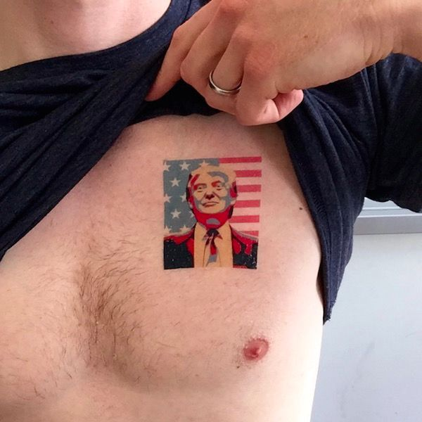 Funny Video Highlights Potential Political Tattoo Regret