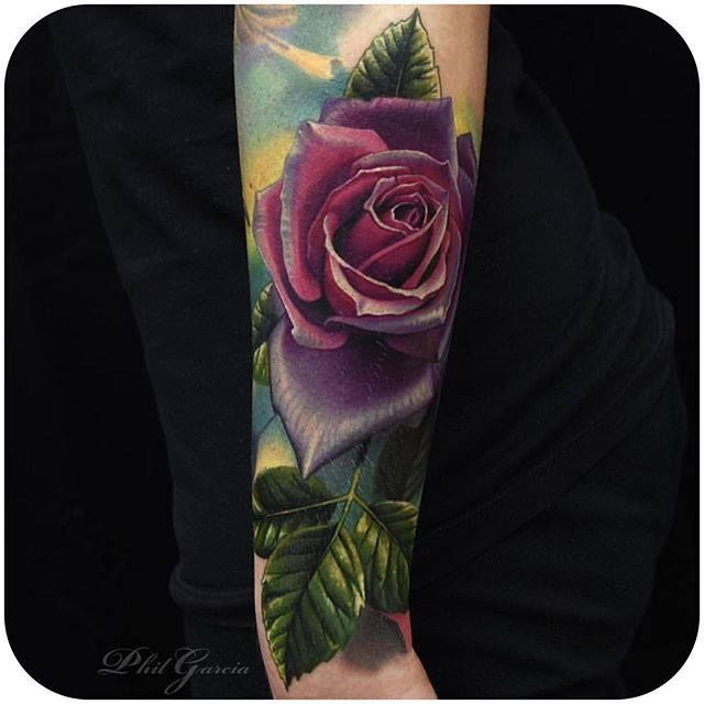 By Phil Garcia via @philgarcia805 #rose #realistic #botanical #floral #PhilGarcia