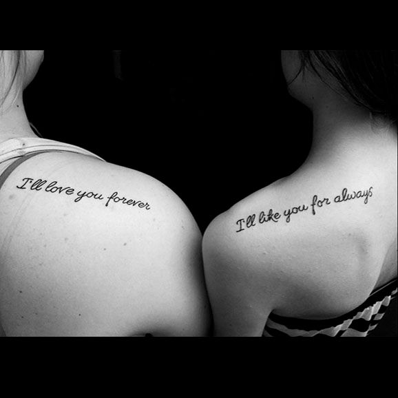 26 Perfectly Sublime Tattoo Designs For Sisters Or Best Friends