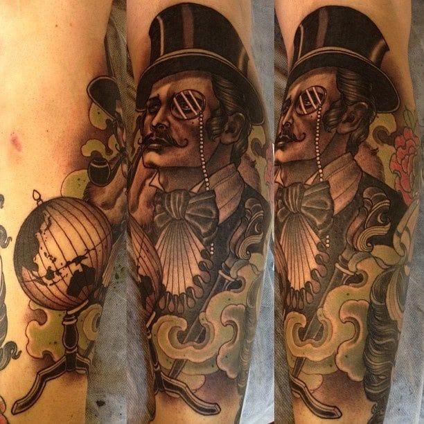 Emily Rose Murray, gentleman tattoo