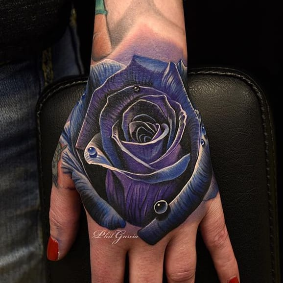 Perfect Rose Tattoos by Phil Garcia