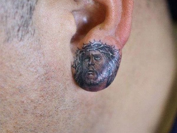 15 Fun & Amazing Ear Tattoos