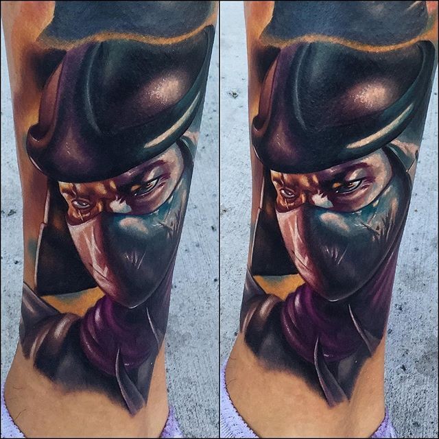 8 Impressive Shredder Tattoos
