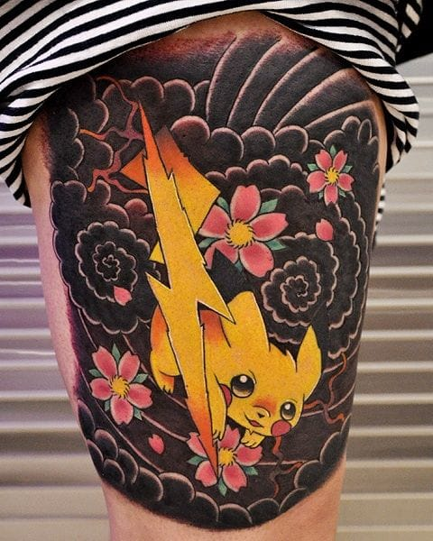 By Amy Jiao of Broken Clever Tattoo in Tucson, AZ.