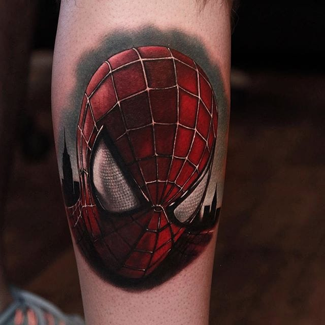 17 Spiderman Tattoos That Are AWESOME, Dude!