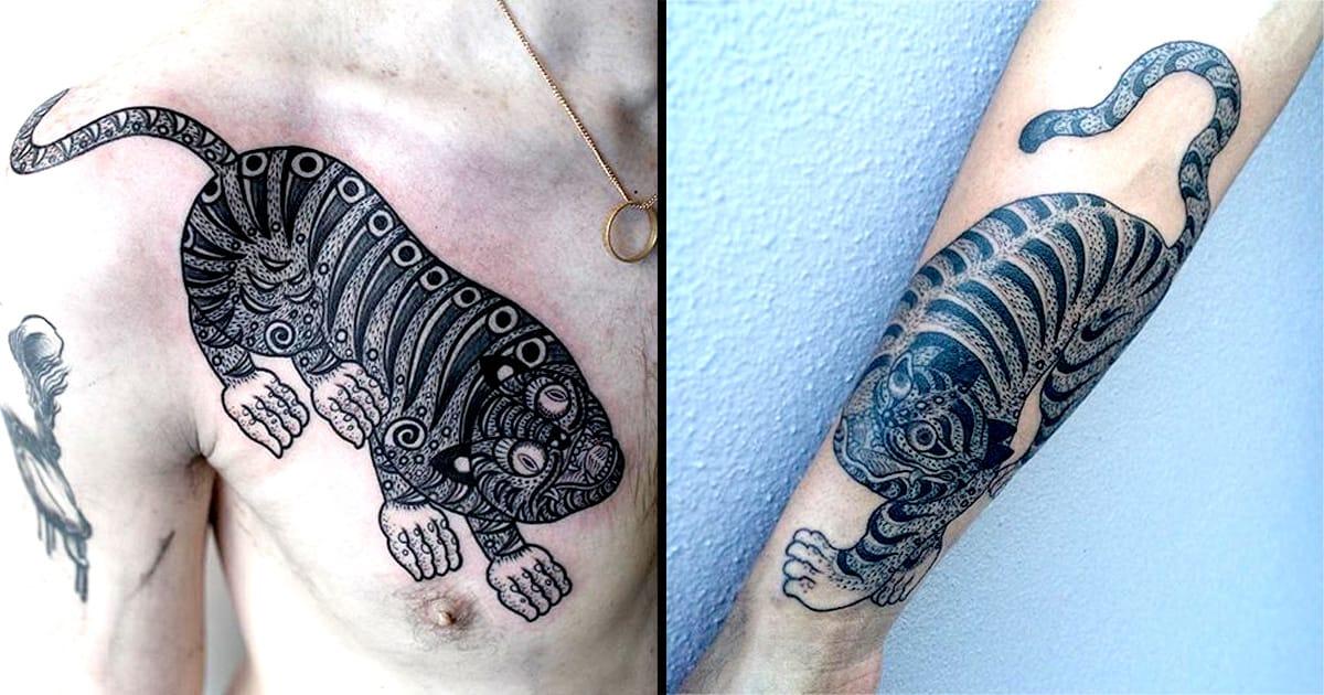 Inspiring Korean Tiger Tattoos By Apro Lee | Tattoodo