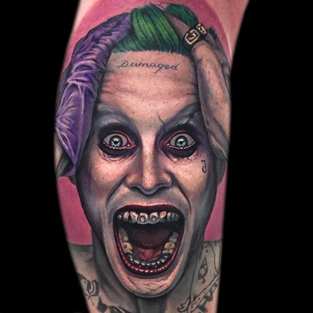12 Tormenting Jared Leto Joker Tattoos