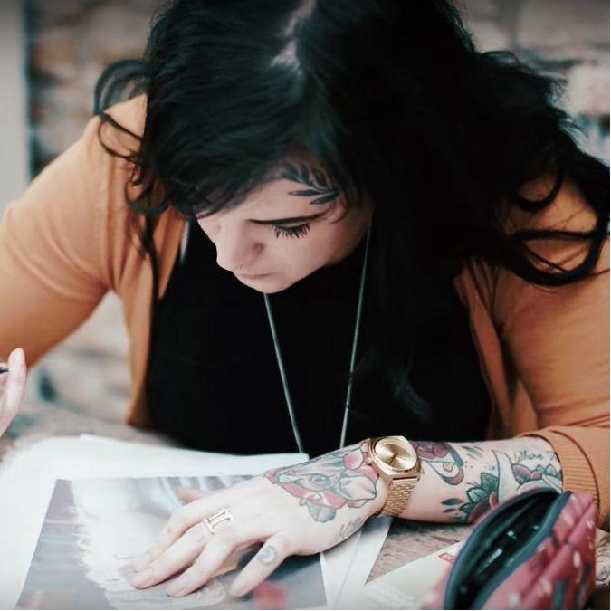 Matthew Harris Tattoo Video Documentary: Paula Castle