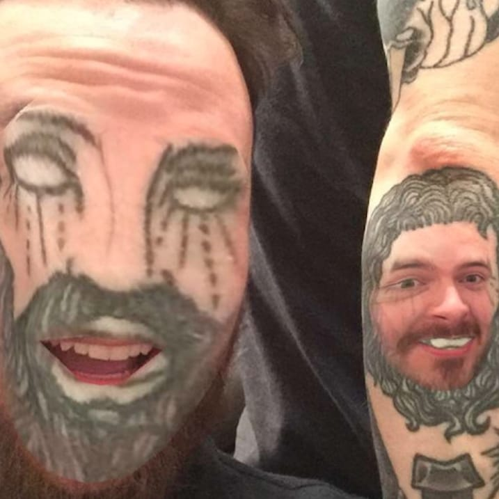 Whoa, Tattooed People Are FaceSwapping With Their Tattoos!