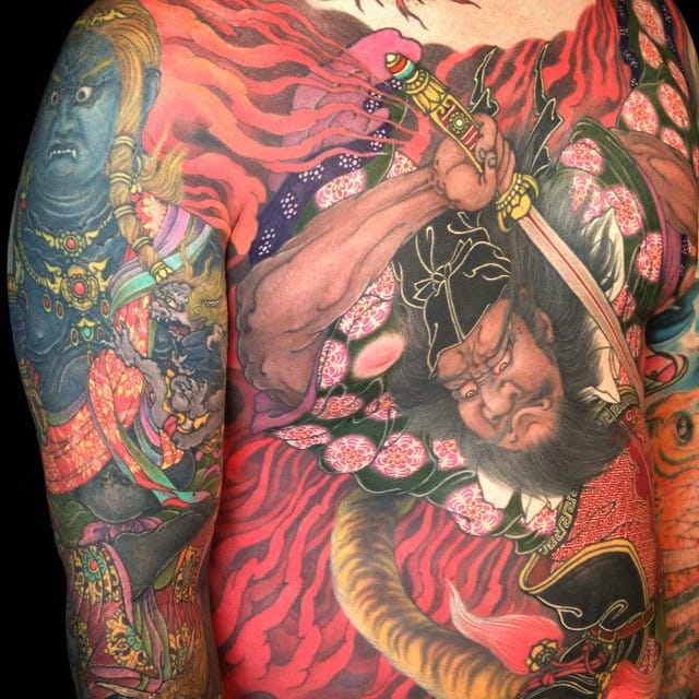 Stunning Large Scale Japanese Tattoos By Shige