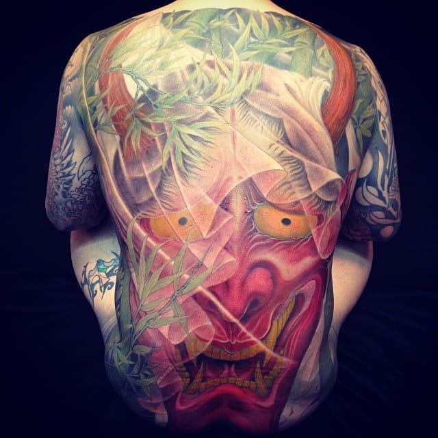 10 Spectacular Large Hannya Tattoos