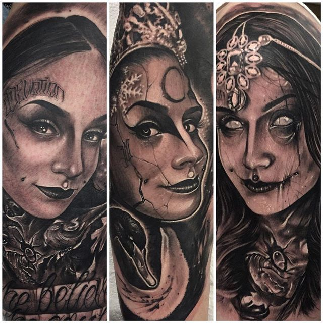 10 Gorgeous Monami Frost Tattoos