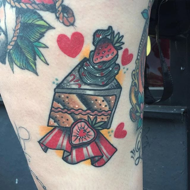 15 Sickly Sweet Cake Tattoos