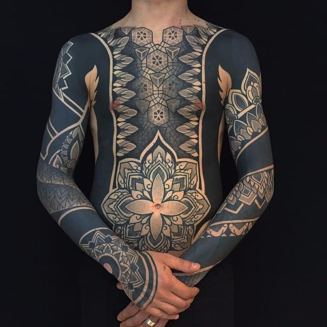 Inspiring Dotwork And Geometric Tattoos By Pierluigi Deliperi