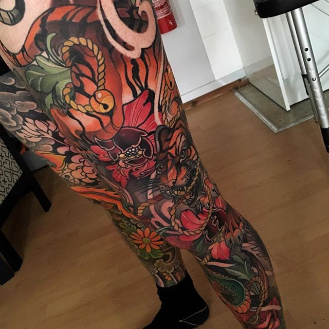 Traditional Tattoo Sleeves: Outstanding Neo-Traditional Sleeve Tattoos!