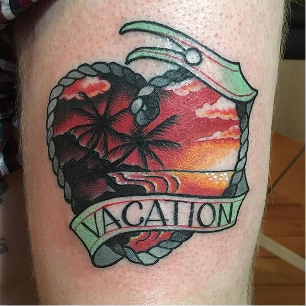 Escape To Paradise With Vacation Tattoos!