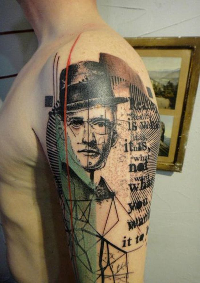 Photoshop Style Tattoo by Xoil