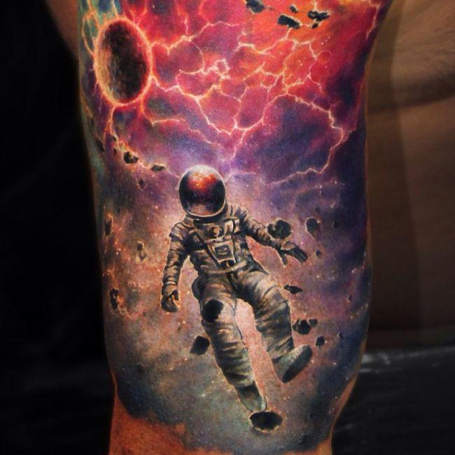 Infinite Galaxies: The Space Tattoos Of Ben Klishevskiy