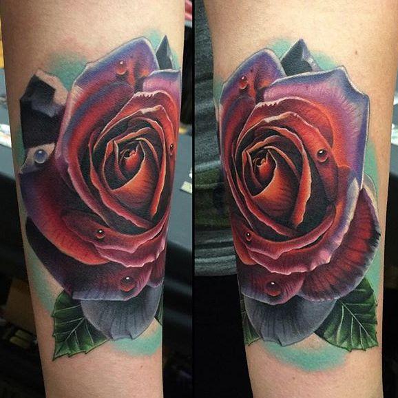 Timeless Red Rose Tattoos