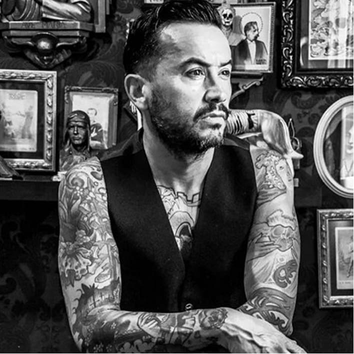 Fine Artists Take On Tattoos: Ramon Maiden