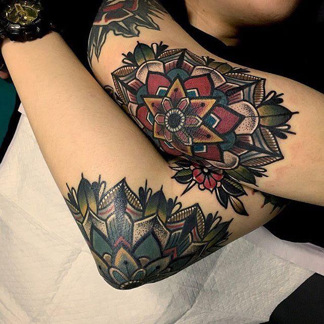 Bold & Geometric Mandala Stylings By Mico Tattoo