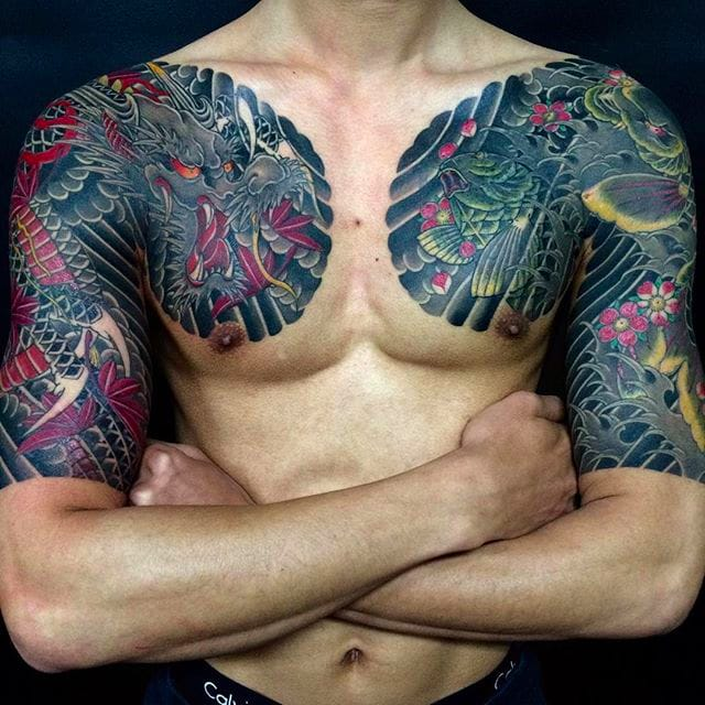 Horihide's Powerful Japanese Style Tattoos