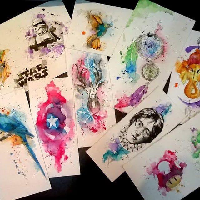 19 Ilustrações Maravilhosas Exclusivas Do Tatuador Roberto Felizatti