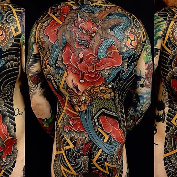 Impeccable Japanese Tattoos By Damien Rodriguez