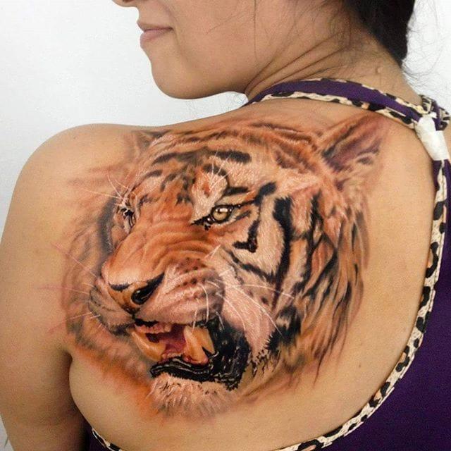 Intense Realism Tattoos By Kobay Kronik