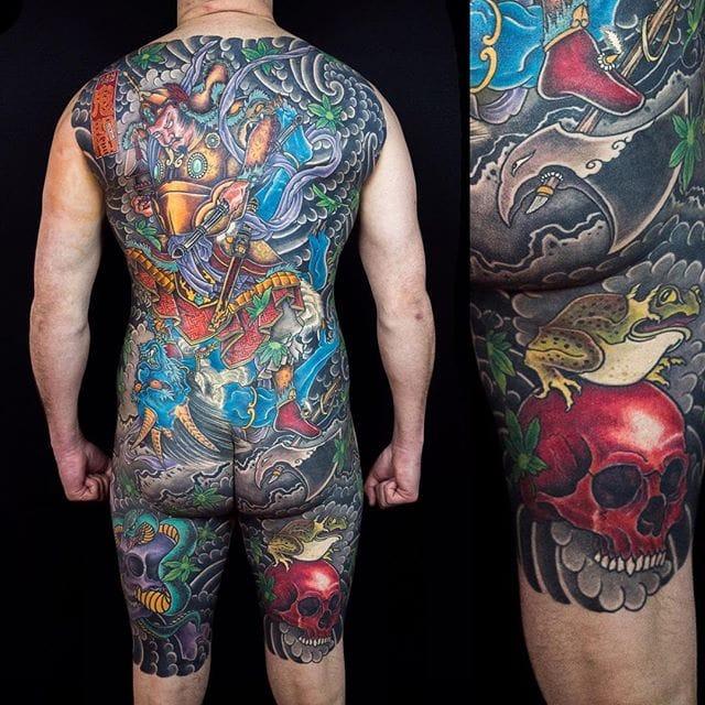 Badass Traditional Japanese Back Tattoos By Horisumi - Kian Forreal