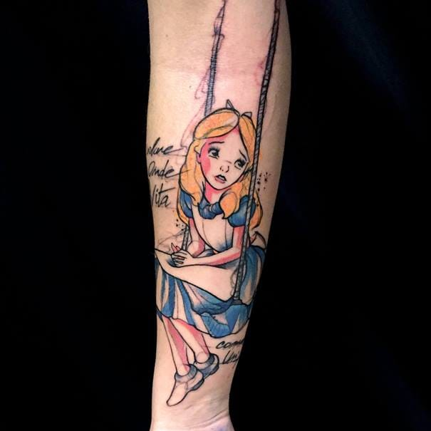 Creative Tattoos By Mirco Campioni