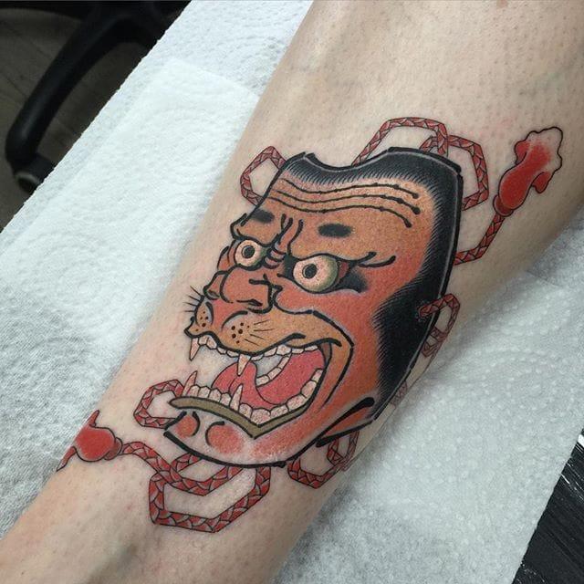 Charismatic Japanese Saru Tattoos