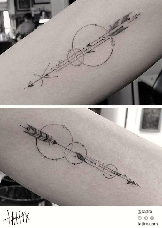 Arrows with a twist.