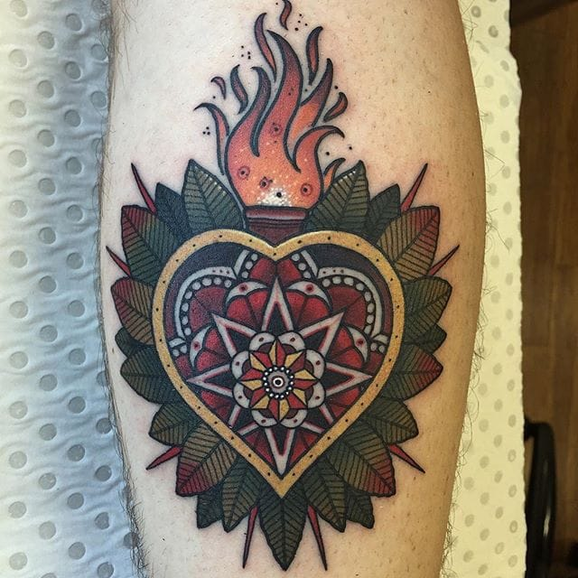 Fantastic Neo Traditional Tattoos By Drew Shallis