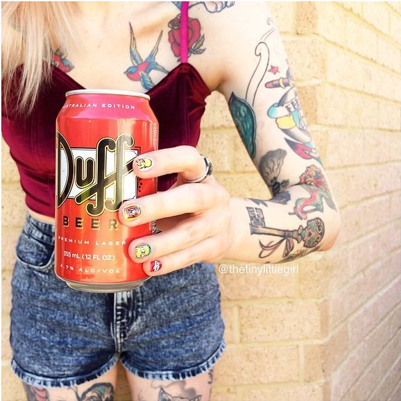 Beth: The Newest Tattooed 'It' Girl for Hair + Style Inspiration