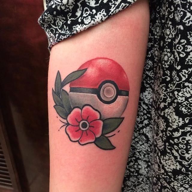 10 Pokéball Tattoos To Start That Dream Pokémon Team