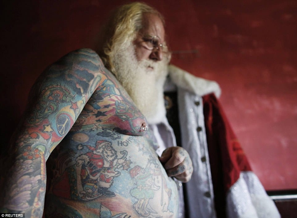 Vitor Martins, Santa Claus
