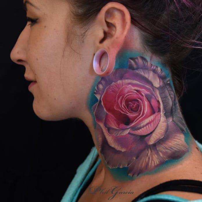 15 Tatuagens Realistas Do Mestre Das Flores Phil Garcia