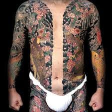 Traditional Bodysuit done by the tattoo master Horiyoshi III.