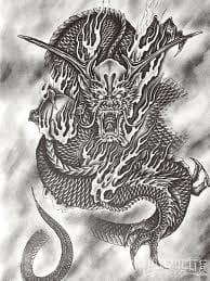 Artwork from master Horiyoshi III.