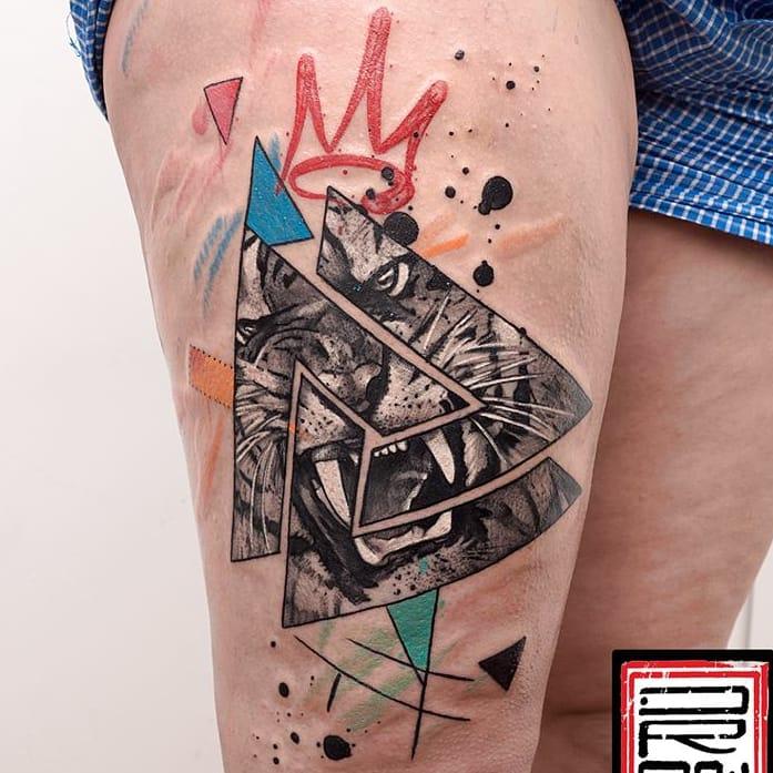 15 Tatuagens Surreais Fantásticas Do Grego George Drone
